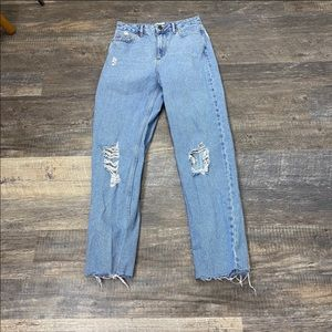 Urban Outfitters BDG High-Waisted Light-Wash Jeans